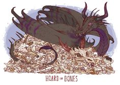 *eats your cats food and makes them watch*Unusual Dragon Hoards Hoard of Bones Dragon Hatchling Egg Baby Babies Cute Funny Humor Fantasy Myth Mythical Mystical Legend Dragons Wings Sword Sorcery Magic Art Fairy Maiden Whimsy Whimsical Drache drago dragon Дракон drak dragão