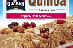 #FoodRecall: Quaker Oats Quinoa Granola Bars | The Quaker Oats Company, a subsidiary of PepsiCo, Inc., announced a voluntary recall today of it's Quaker Quinoa Granola Bars after an ingredient supplier was found to have distributed sunflower kernels that may have been contaminated with Listeria.  @quaker