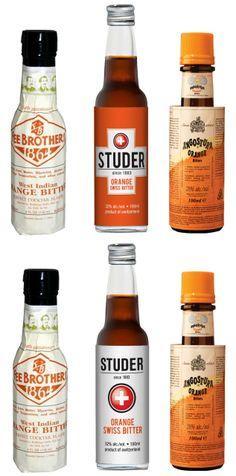 Inwards packaging designs for Studer Orange Swiss Bitter. #bitters #packagingdesign #inwardsolutions