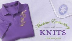 Machine Embroidery With Knits: Online Class