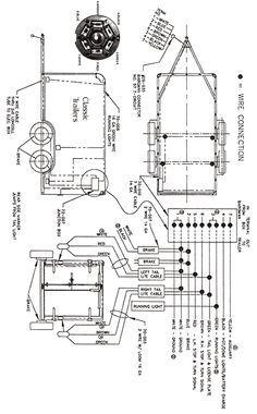 rv travel trailer junction box wiring diagram | trailer wiring diagram 7  wire circuit trailer plans