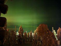 finland northern light