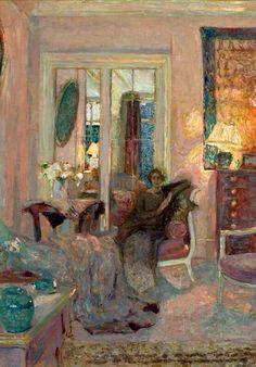 EDOUARD VUILLARD (French 1868-1940) Portrait of Princess Bibesco, 1912