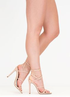 These strappy stunners will take any look to a chic new level. Types Of  Heels 5146a2786