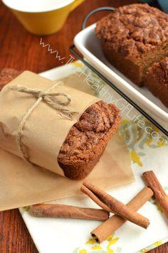 Cinnamon Swirl Butternut Squash Bread from www.TheHealthyGFLife.com. Paleo, gluten free, grain free, dairy free, soy free, refined sugar free.