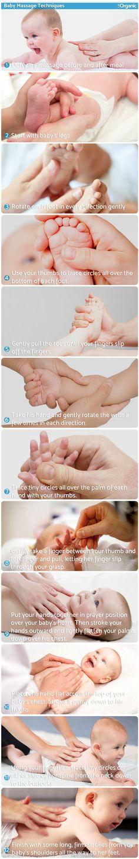 ListOrganic.com Baby Massage Techniques