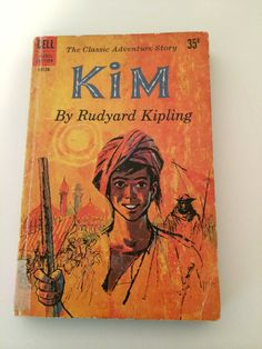 Kim by Rudyard Kipling Paperback First Dell Printing June 1959 LB128 Book Literature Collectible 1950s Free US Shipping Classics Adventure by SoaringHawkVintage on Etsy
