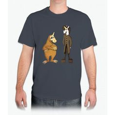 Sloth Goth Unicorn - Mens T-Shirt