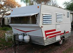 1968 Aristocrat Land Commander Vintage Travel trailer Canned Ham