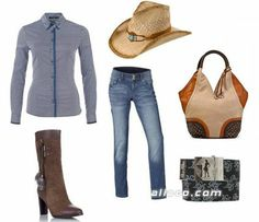 Country style as clothes