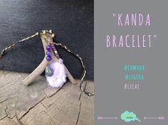 #Kandabracelet #Lilac #Agata #Feathers