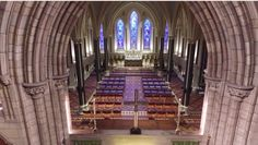 A Drone Flew Through St. Patricks Cathedral - And Made This Amazing Video Church Of Ireland, Irish News, Video Drone, Cathedral, Stairs, St Patrick, Art History, Amazing, Travel