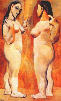 Pablo Picasso – Two Nudes