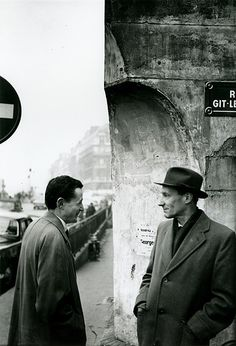 BRION GYSIN (UK), William S. Burroughs (Naked Lunch Launch Series, Paris, October 1959)
