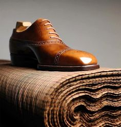 """""""In art the best is good enough."""" -Johann Wolfgang von Goethe #yoheifukuda #bespokeshoes #heritage #collection #antique #patina #leather #art #good #enough #photo #tokyo #japan"""