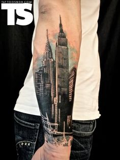 New York City Tattoo - Very cool