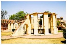 'Instrument measuring the harmony of the heavens' is the literal meaning of the wonderful Jantar Mantar, Jaipur, Rajasthan. Sawai Jai Singh II was the master mind behind the creation of this astronomical observatory. He built it in stone and marble in the year 1716. He would often walk into the Jantar Mantar to use it with his teachers Pandit Jagannath and Kewal Ram who were experts in astronomical studies.