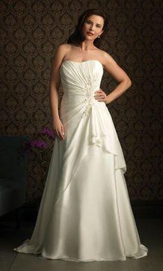 098cc1b1de9 plus size wedding dresses 2013 Ruched Wedding Dress