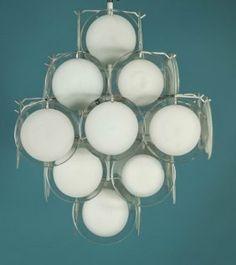 1960u0027s Italian Murano Glass Chandelier By Venini