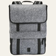 Natick 17-Liter Felt Water-Resistant Backpack