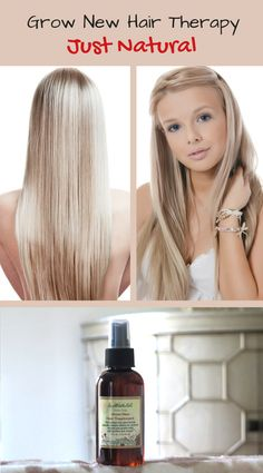 There is a real fact that natural ingredients have amazing abilities to grow new hair and stop falling hair.