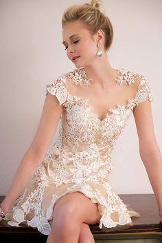 Cap Sleeve Jovani Dress