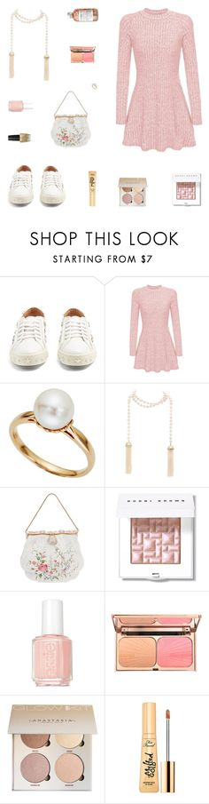 """Planting Fate"" by belenloperfido ❤ liked on Polyvore featuring Aquazzura, Tara, Bobbi Brown Cosmetics, Essie, OPI and Too Faced Cosmetics"
