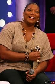 Queen Latifah  She reminds me so much of my Aunt Frank.