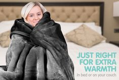 These lovely super-soft faux-mink blankets are just right for extra warmth in bed or on your couch. Cheap Double Beds, Comfort Mattress, Best Mattress, Linen Bedding, Mink, Fabric Weights, Couch Blanket, Blankets, Electric