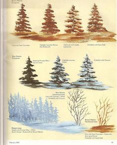 learn to paint Tole Painting, Painting & Drawing, Watercolor Paintings, Painting Lessons, Art Lessons, Bob Ross Paintings, Arte Country, Christmas Paintings, Learn To Paint