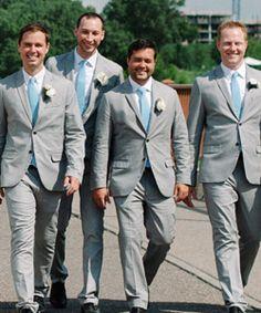 Turqouise Gingham Groomsmen Ties Groom And Groomsmen, Gingham, Wedding Styles, Real Weddings, Suit Jacket, Fashion, Moda, Fashion Styles, Groom And Groomsmen Cravats