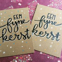 Eigen werk ! MagdaDeGryse . Callimanse Een fijne kerst voor jullie ! #kerstkaart #kerstkaarten #christmascard #christmascards #eenfijnekerst #handlettering #homemadechristmascards Christmas Cards, Xmas, Painted Rocks, Doodles, Notes, Diy Crafts, Handwriting, Handmade, Bullet Journal