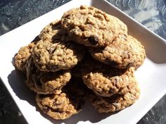 These are awesome!  I used Mueseli with fruit in it, and only about 1/2 of chocolate chips.  YUM! Ultimate Oatmeal Chocolate Chip Cookies Recipe - Food.com - 460638