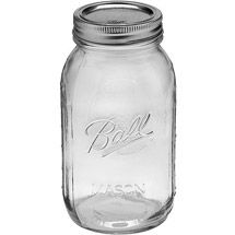 Walmart: Ball 12-Count Regular Mouth Quart Jars with Lids and Bands