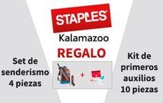 Cupón REGALO con tu compra online en Staples Kalamazoo