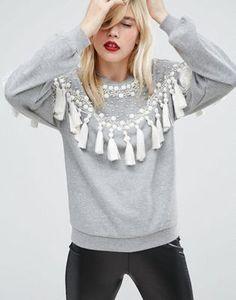 Découvrez la sélection de sweat-shirts et sweats à capuche chez ASOS.  Découvrez les derniers sweat-shirts et hoodies oversize pour femme. c5873556f6f2
