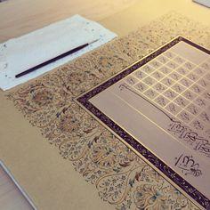 Caligraphy, Arabic Calligraphy, Turkish Art, Ornaments, Artwork, Inspiration, Instagram, Design, Illuminated Manuscript