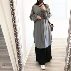 Hijab Chic, Stylish Hijab, Hijab Fashionista, Islamic Fashion, Muslim Fashion, Mode Niqab, Hijab Mode Inspiration, Niqab Fashion, Look