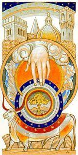 Ace of Pentacles- Tarot by Alexander Daniloff 2012