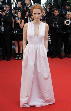 Jessica Chastain en Alexander McQueen.