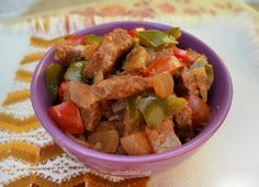 Paprika Beef Casserole (Slow-Cooker) is so very tasty ! Easy recipe using everyday ingredients, but tastes amazing ! Definitely a recipe to try tonight ! Beef Stew Meat, Beef Casserole, Recipe Using, Slow Cooker, Easy Meals, Tasty, Cooking, Amazing, Recipes