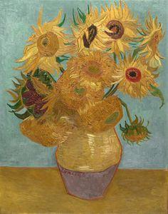 Sunflowers, c.1889 Art Print at AllPosters.com