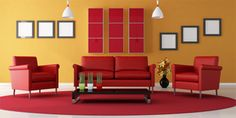 red and yellow color schemes - Google Search