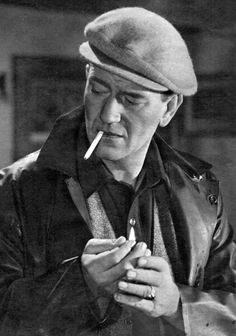 """""""I eat as much as I ever did, I drink more than I should, and my sex life is none of your goddamned business."""" John Wayne ,Playboy interview, May 1971 Classic Movie Stars, Classic Films, Vintage Hollywood, Classic Hollywood, Earl Holliman, The Quiet Man, Robert Montgomery, John Wayne Movies, Westerns"""