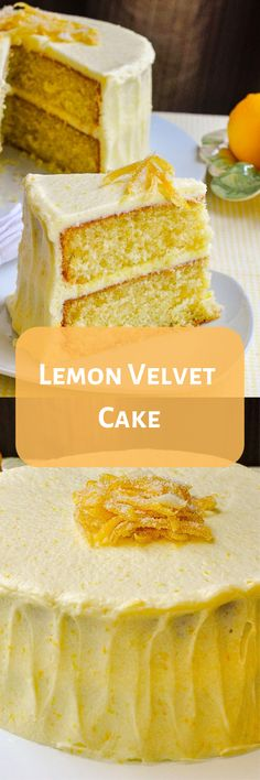 Cupcakes Cakes Birthday Food 47 Ideas For 2019 Lemon Desserts, Lemon Recipes, Just Desserts, Baking Recipes, Delicious Desserts, Dessert Recipes, Yummy Food, Lemon Cakes, Baking Ideas