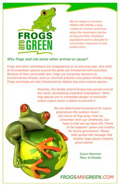 Frogs are Green.com