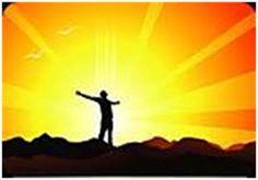 Resultado de imagem para imagem de homem no por do sol