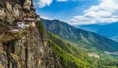 Lugares que te dejarán sin aliento Nido del Tigre – Bhután