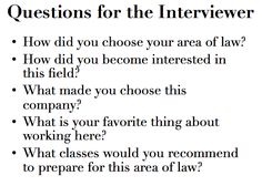 Questions for a lawyer interview. These could also work for a informational interview or internship interview! School Motivation, Study Motivation, Interview Tips And Questions, Resume Advice, Law School, School Life, College Life, Architecture Quotes, Education Humor