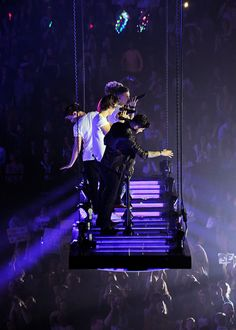 I loved it when they got on this platform at my concert!